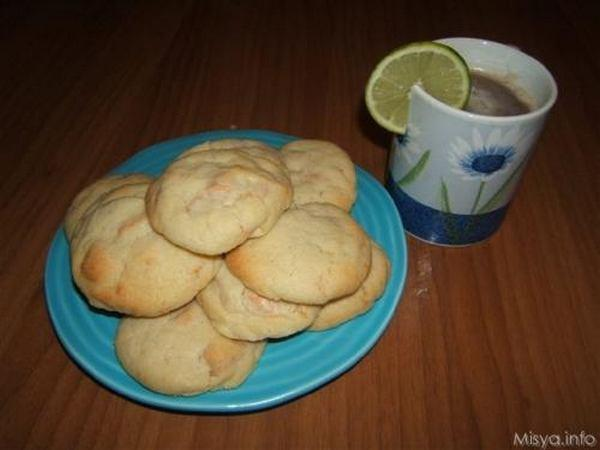 biscotti al cioccolato bianco
