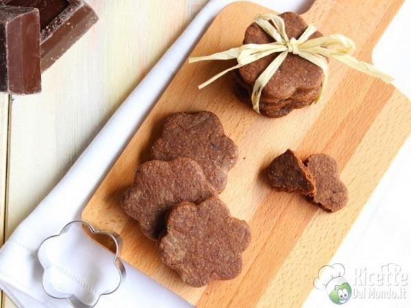 biscotti al cioccolato bimbi
