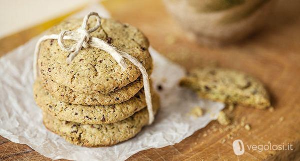 biscotti al cioccolato e menta