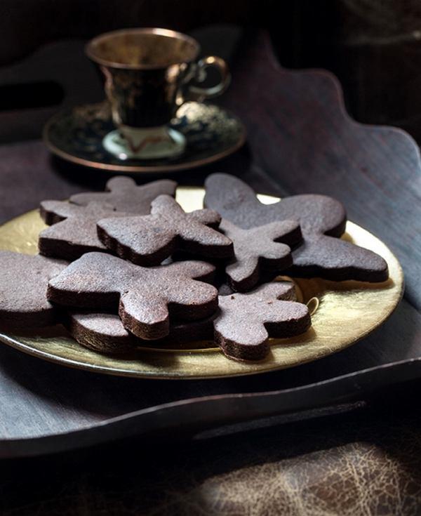 biscotti al cioccolato e vaniglia