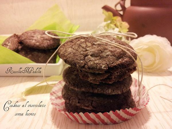 biscotti al cioccolato senza lievito