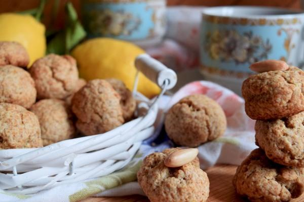 biscotti al limone senza zucchero