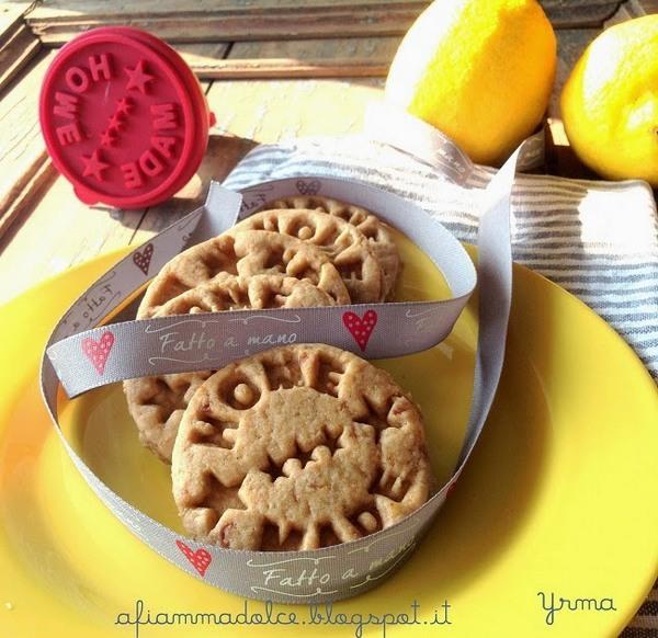 biscotti al limone vegan