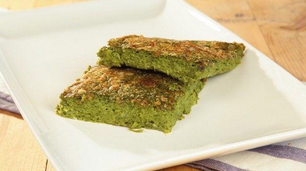 sformato spinaci basilico