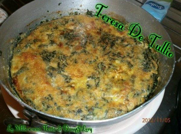 sformato spinaci e mozzarella
