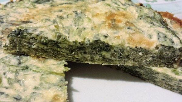 sformato spinaci senza glutine