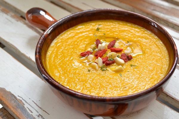 zuppa carote zenzero