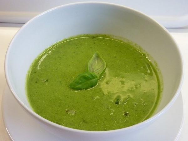 zuppa detox fagioli spinaci