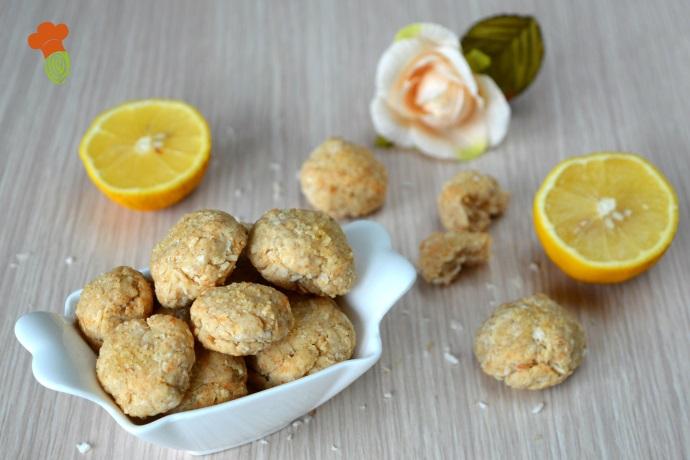 biscotti cocco e limone light