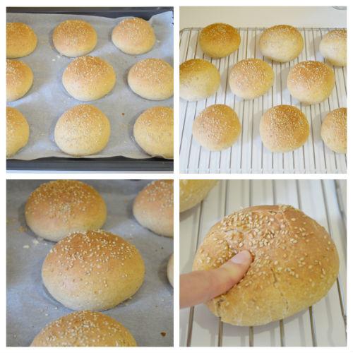 burger buns 4