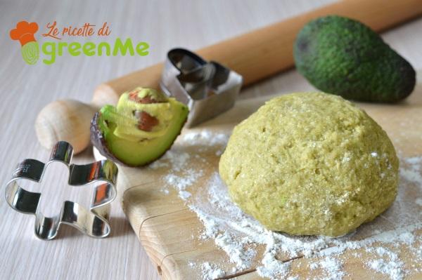 pasta frolla light con avocado