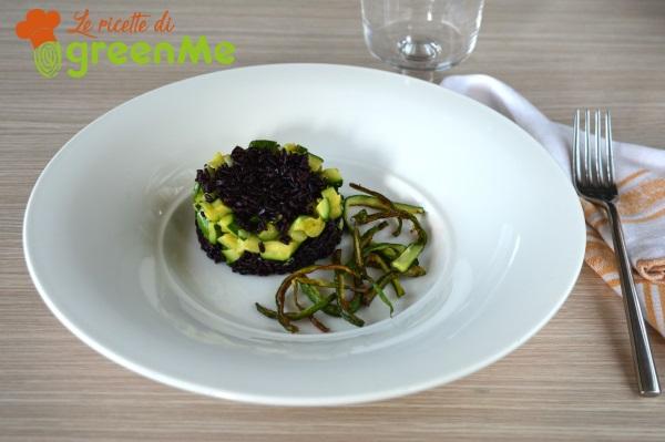 riso venere zucchine 1