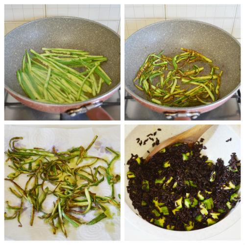 riso venere zucchine 4