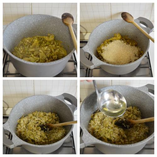 risotto carciofi 2