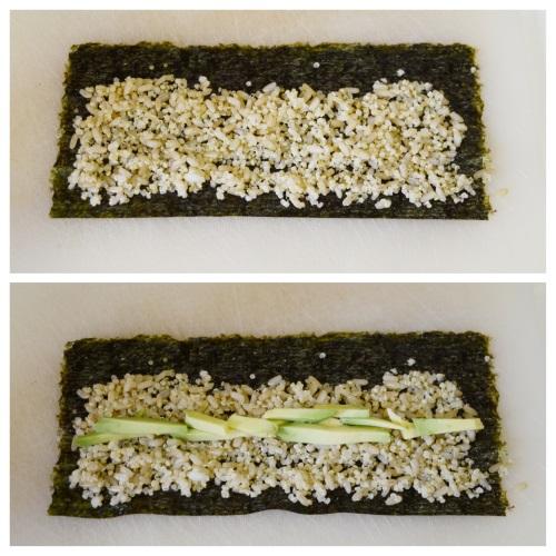 sushi riso integrale quinoa 3