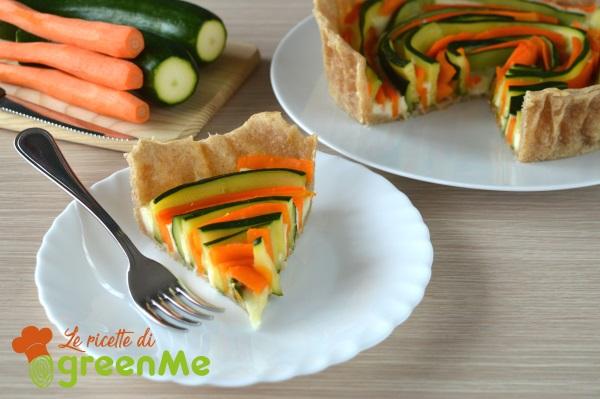 torta salata zucchine carote 3
