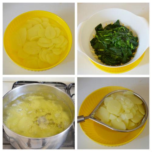 tortino patate spinaci 1