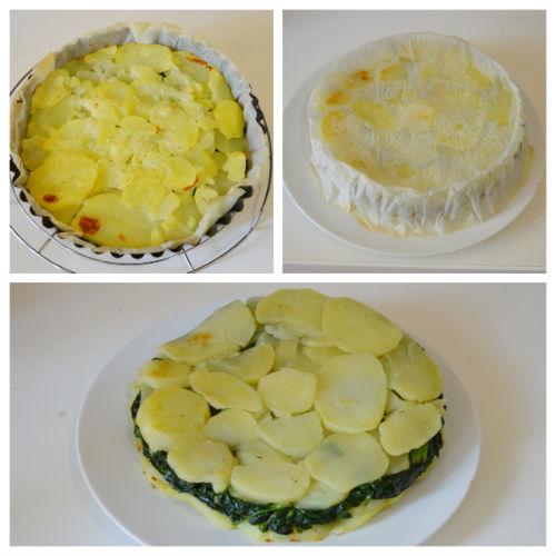 tortino patate spinaci 3