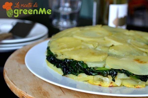 tortino patate spinaci 4