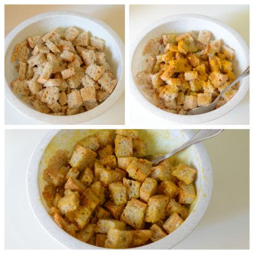 vellutata porri crostini curcuma 3