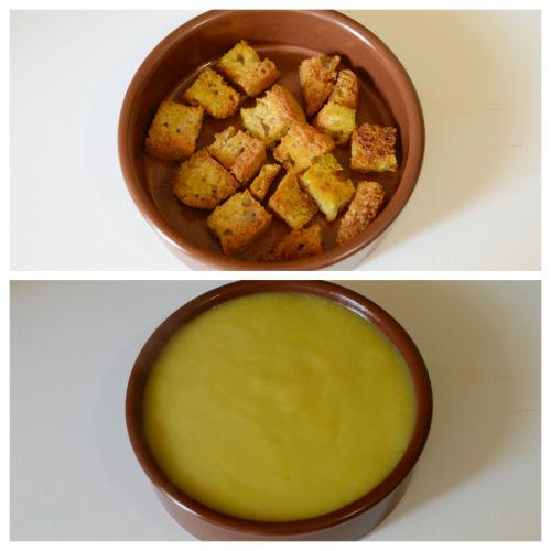 vellutata porri crostini curcuma 6