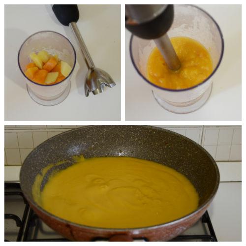 vellutata zucca patate 3