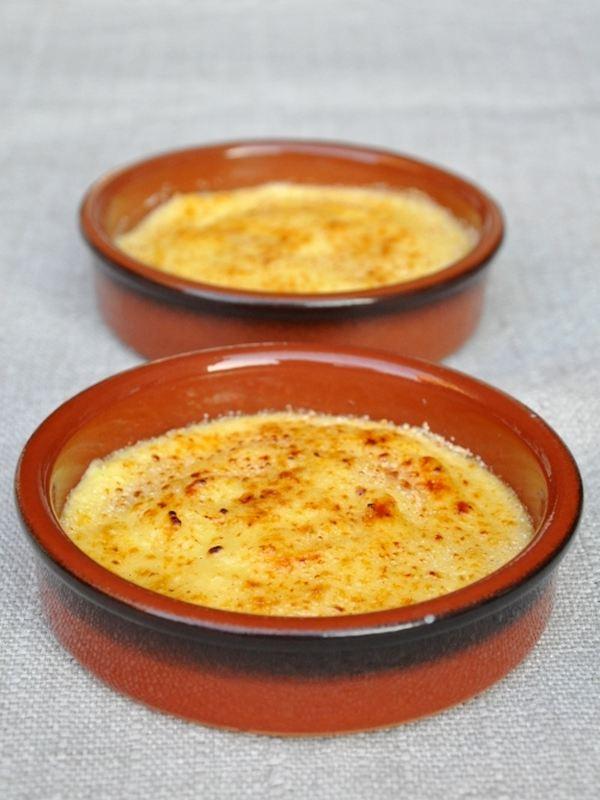 crema catalana al cioccolato bianco