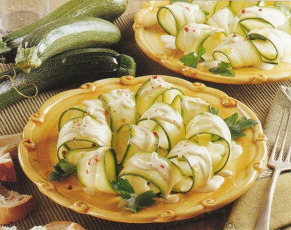 carpaccio di verdure al vapore copia