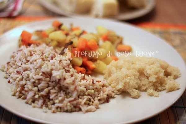 quinoa cotta al vapore copia