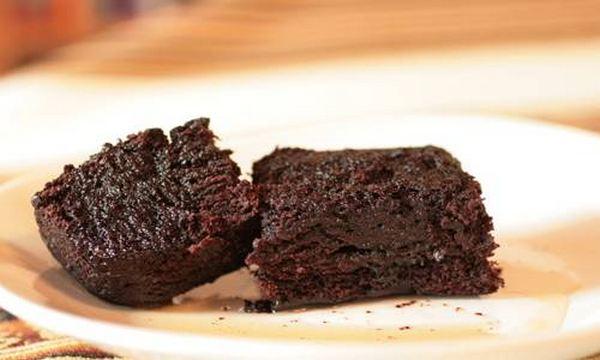 torta al cioccolato e caffe