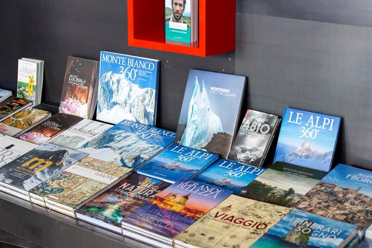 libreria monte bianco
