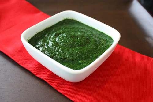 pure di spinaci