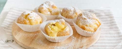 bigne san giuseppe 8 crema pasticcera