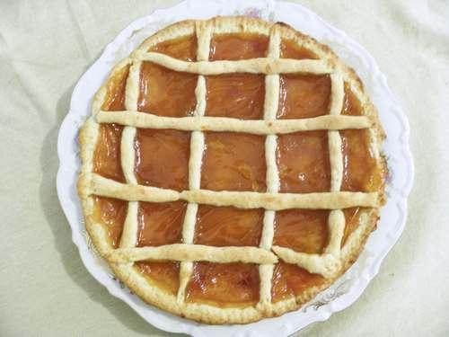 crostata vegan albicocca
