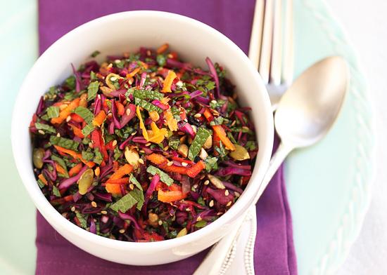 insalata melograno cavolo rosso