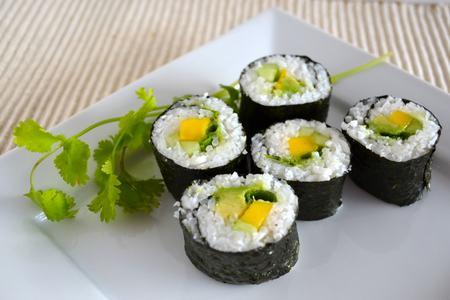 sushi veg 8