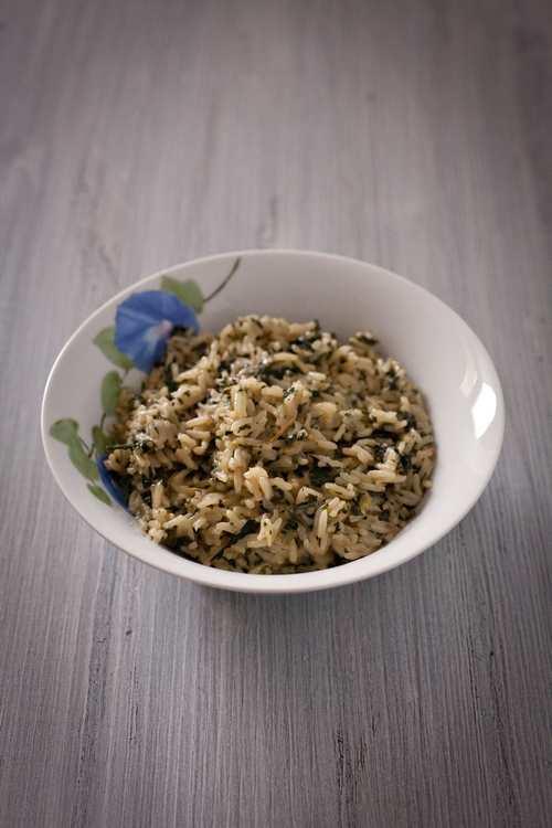 risotto alle ortiche ricetta