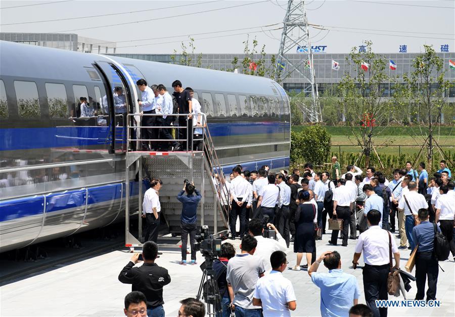 treno flottante levitazione magnetica