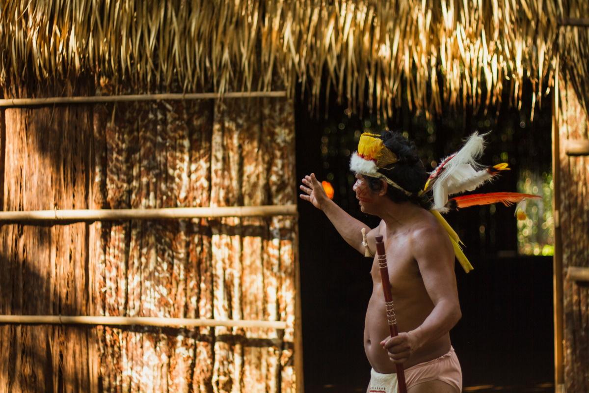 Indigeno brasiliano