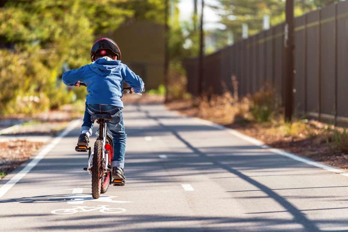 bambini casco bici