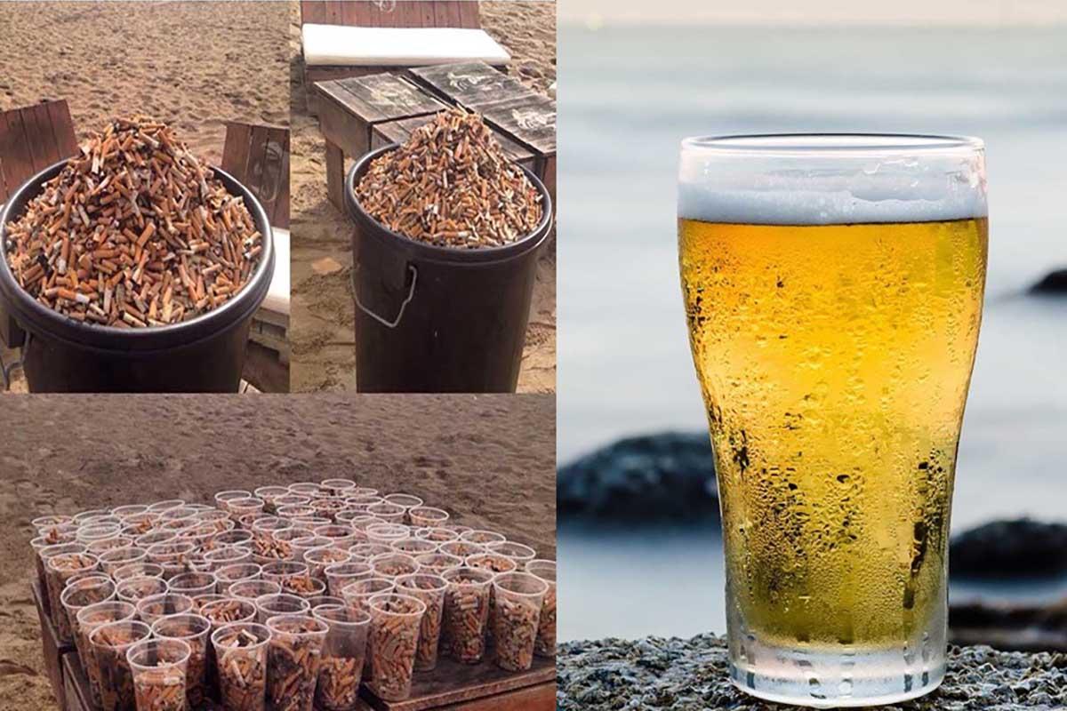 birra-mozziconi-raccolti