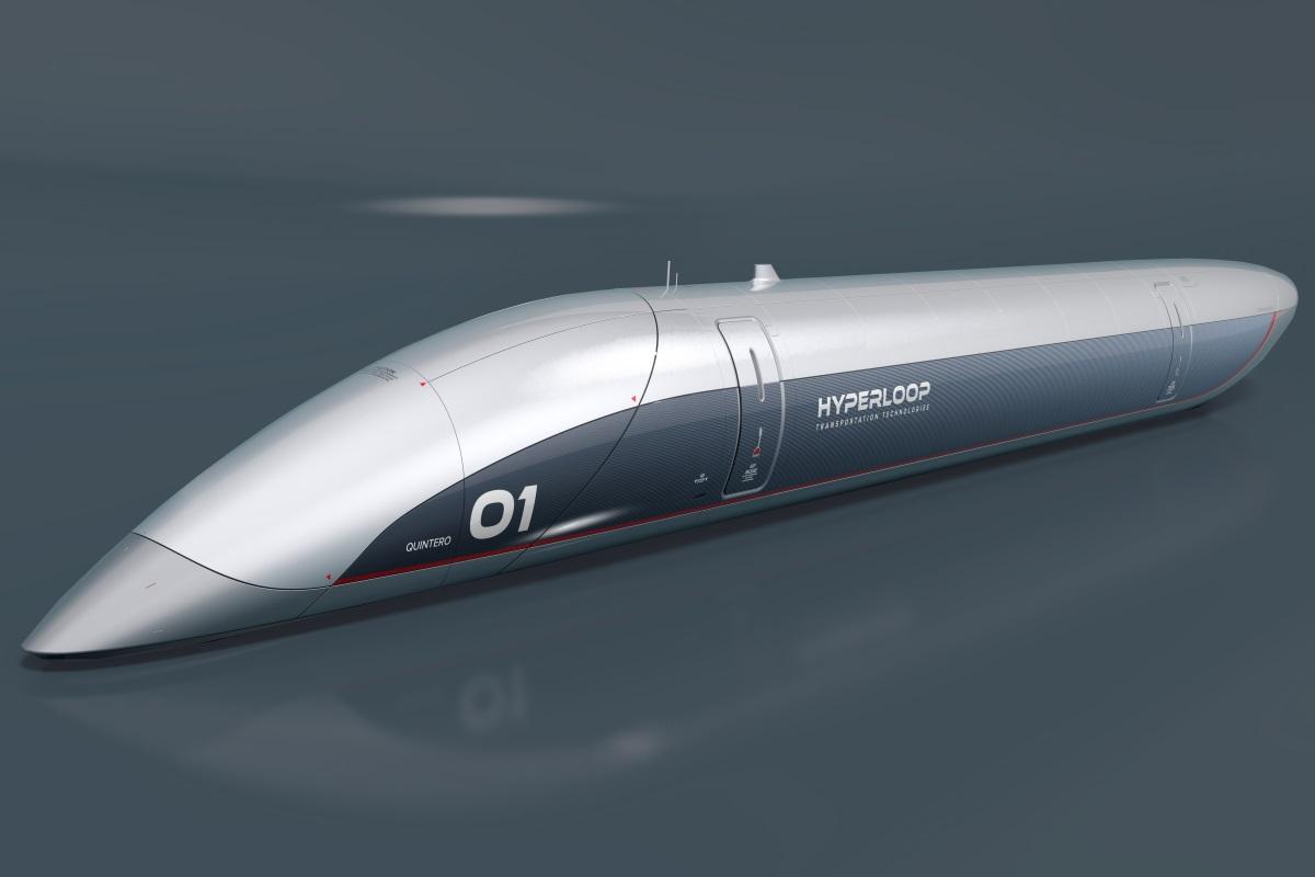 Treno ad alta velocità a levitazione magnetica passiva