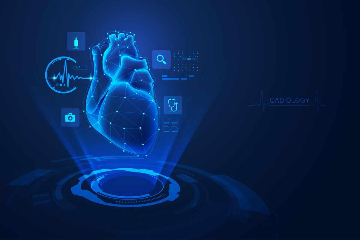 cuore ologramma