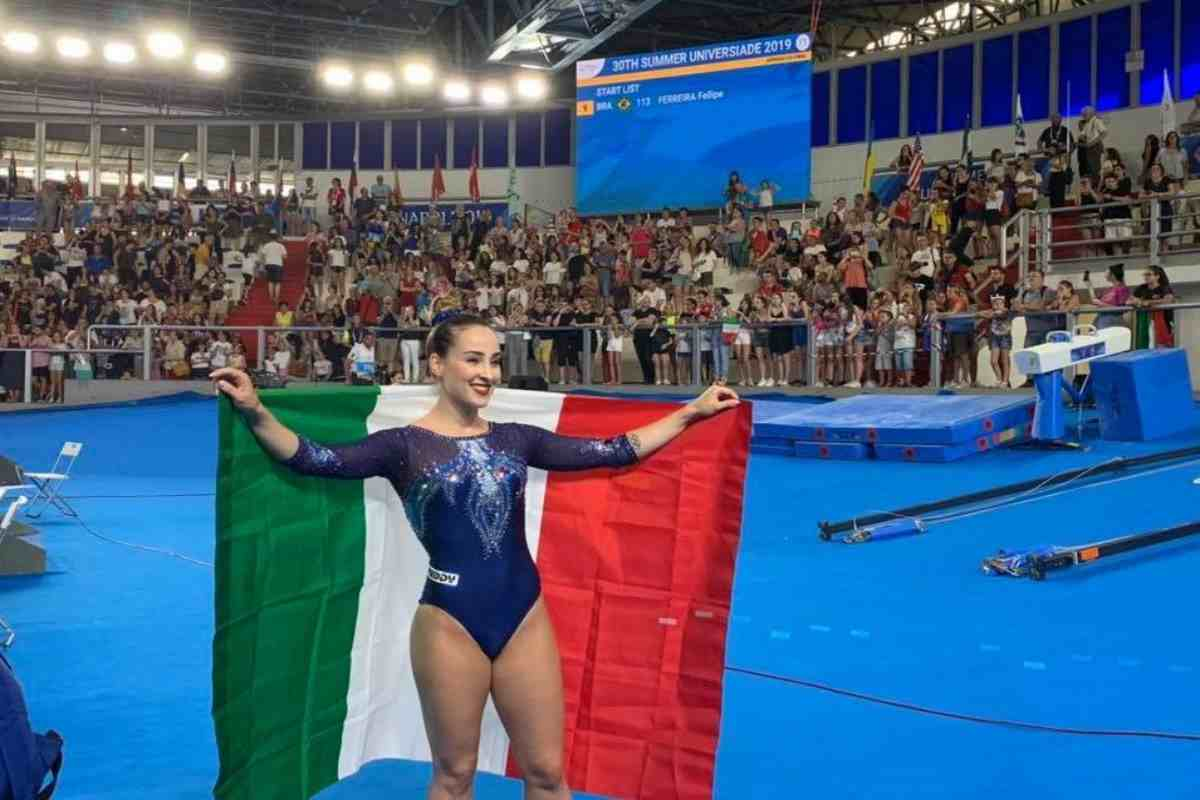Carlotta Ferlito oro