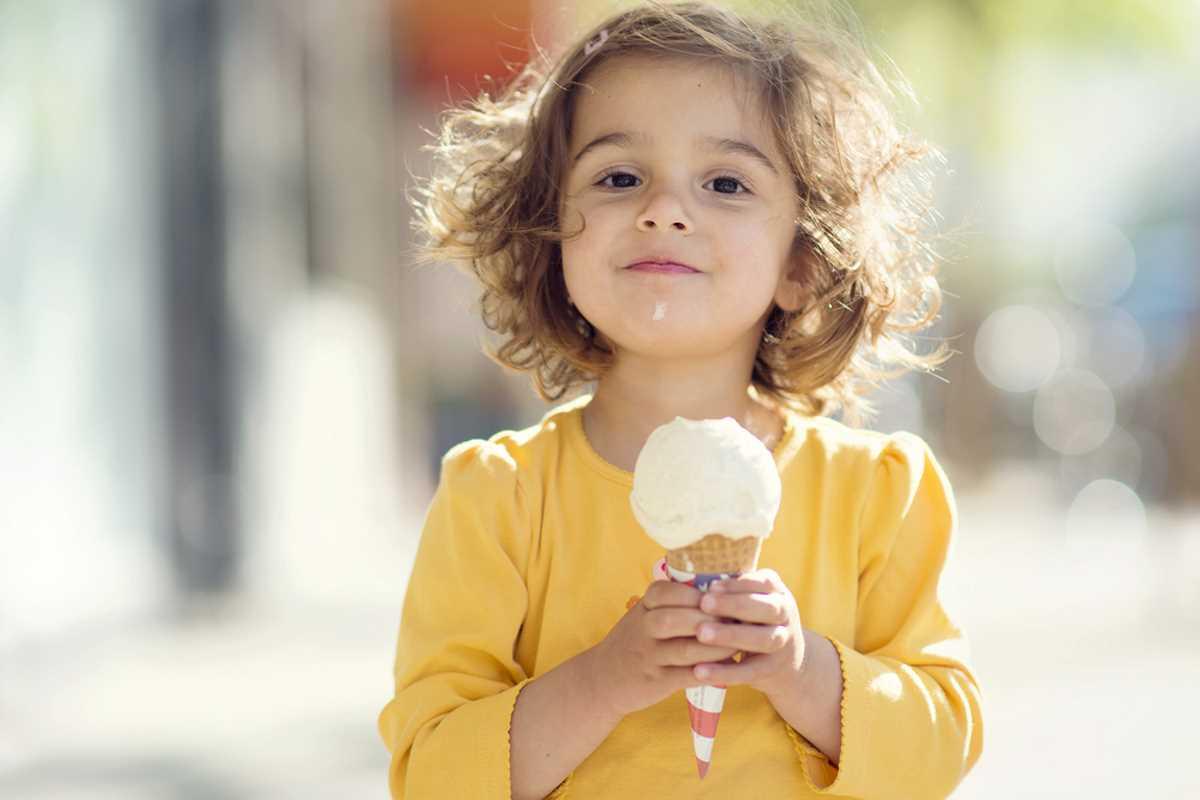 gelato-bambina