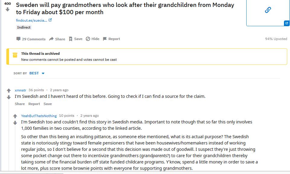 Discussione Reddit