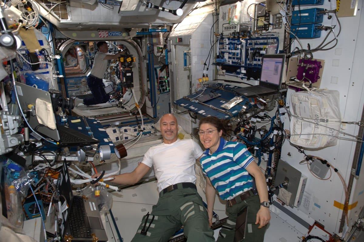 Luca Parmitano dallo spazio