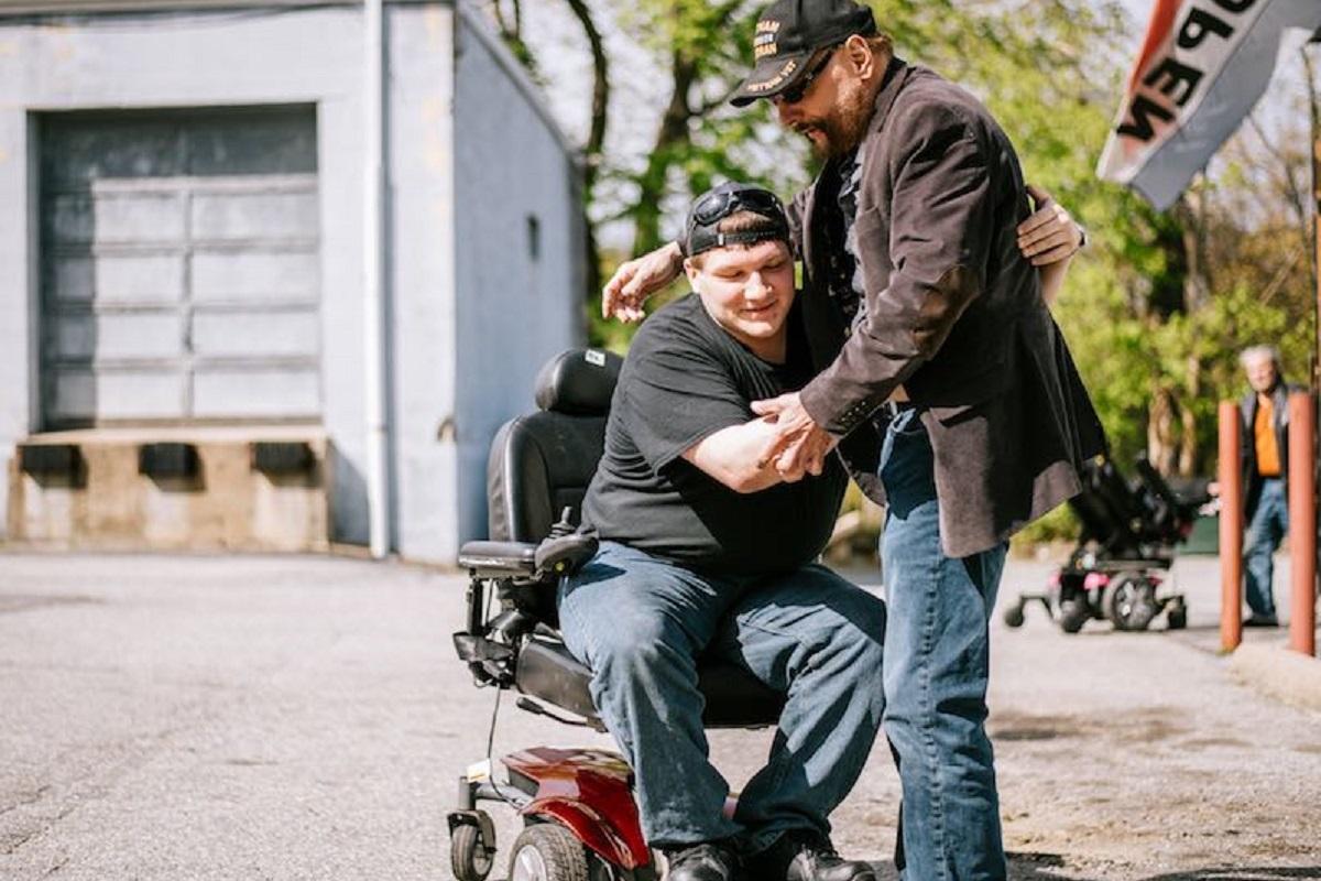 Sedie a rotelle donate a chi ne ha bisogno