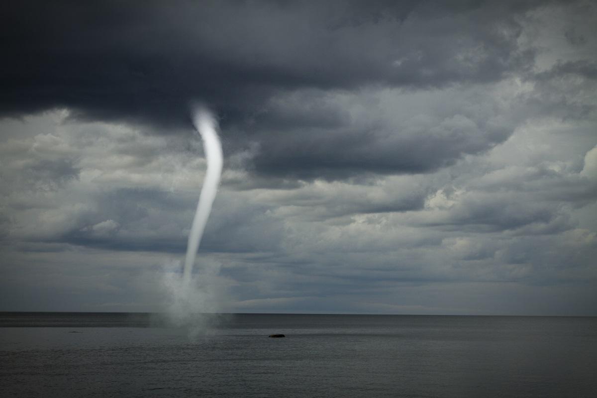 Tornado in Grecia