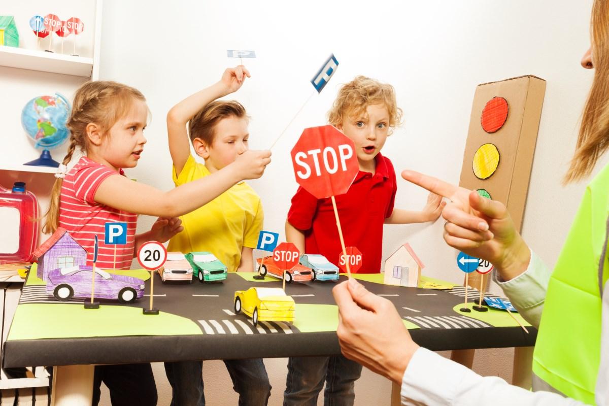 Tecnica tre zone per i bambini